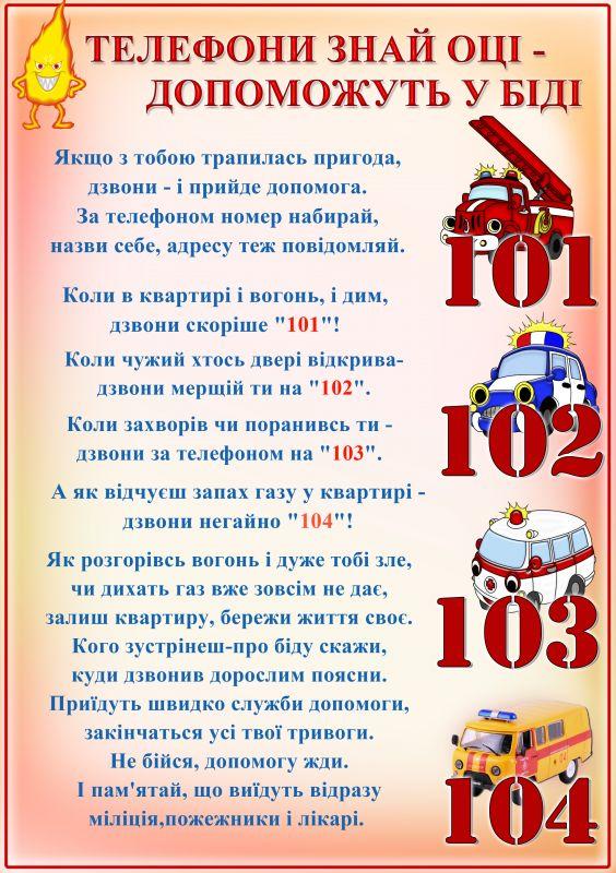 Забродівська ЗОШ І-ІІ ступенів - Правила БЖД
